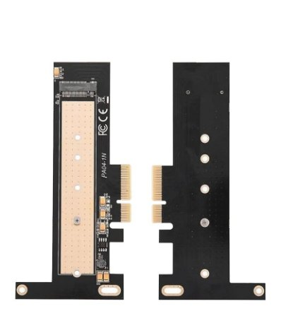 Conversor PCI-Express 4x para SSD M.2 NVME AHCI