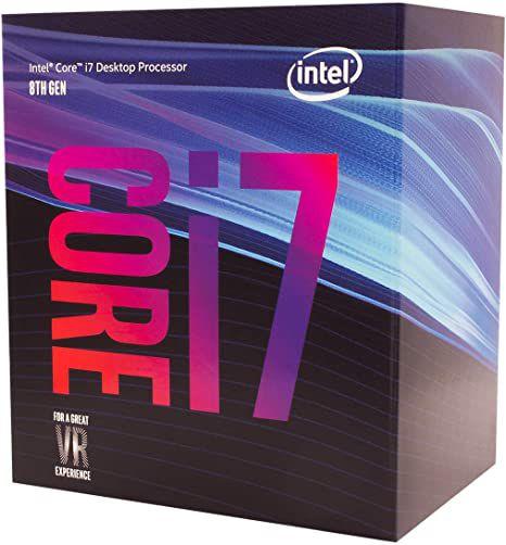 Processador Intel Core i7-8700 Coffee Lake Cache 12MB 3.2GHz LGA 1151 BX80684178700