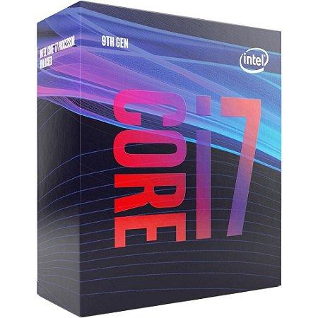 Processador Intel Core I7 9700 Coffee Lake LGA1151 3GHz 12MB Cache BX80684I79700