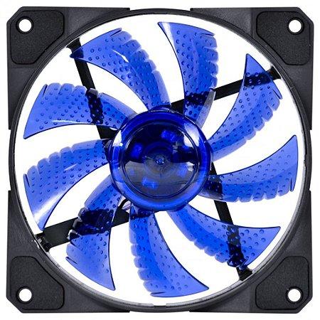 Cooler Gabinete 120x120mm MyMax Storm V2 LED Azul