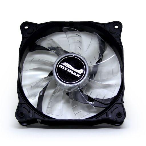 Cooler Gabinete 120x120mm MyMax Storm V2 LED Branco