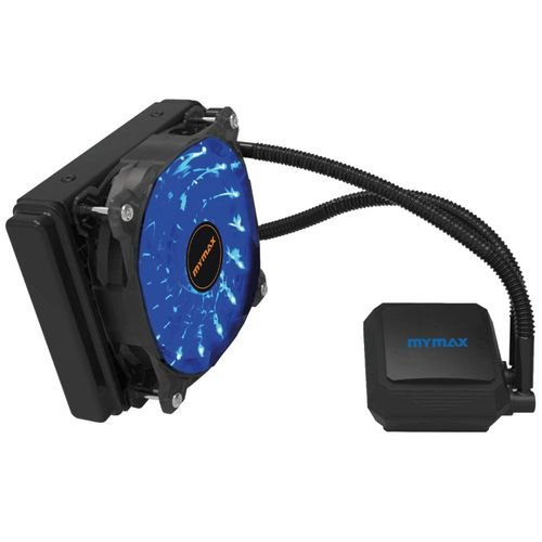 Water Cooler Algor Single Fan 120MM Intel/AMD LED Azul MyMax