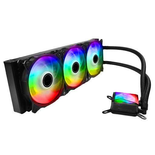 Water Cooler Algor Triple Fan 360MM Intel/AMD LED RGB MyMax
