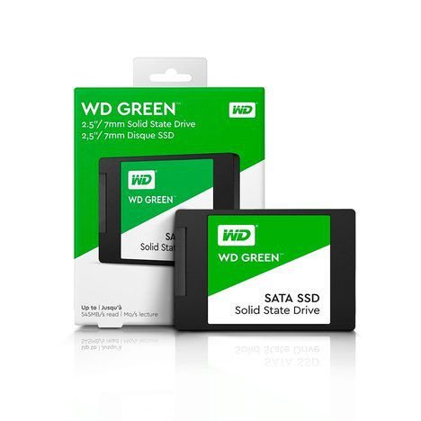"SSD 120GB 2,5"" SATA III WDS12G2G0A WDGreen Wester Digital"