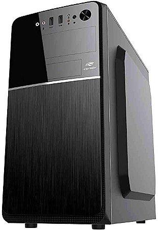 Gabinete Micro ATX 2 Baias Preto C/Fonte 200W MT-24V2BK C3Tech