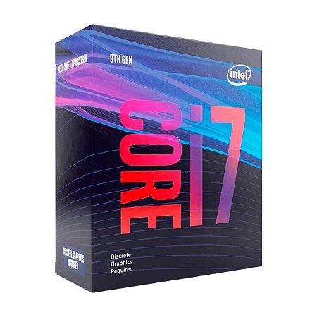 Processador Intel Core i7 9700F 3GHz 12MB CACHE LGA1151 BX80684I79700F