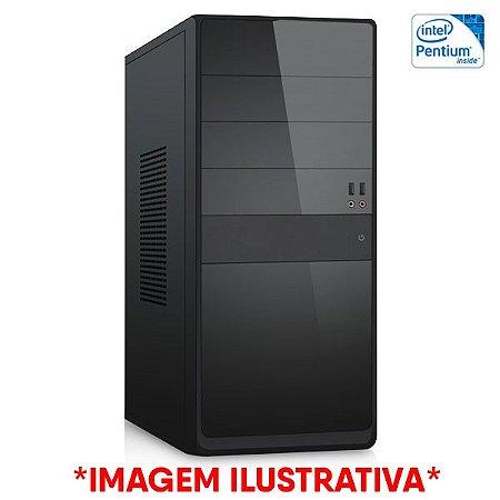 Computador Intel Pentium G2020 + Placa Mãe TCN H61 + Memória 4GB DDR3 + SSD 120GB