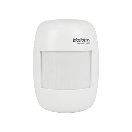 Sensor de Movimento Infravermelho Sem Fio IVP 4000 Smart Intelbras