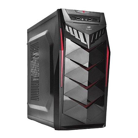 Gabinete Gamer ATX MID Tower s/Fonte MT-G70BK C3Tech