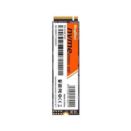 SSD 128GB M.2 NVME 2280 Leitura 2000Mbp/s KINGDIAN