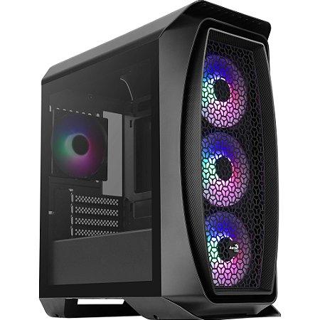 COMPUTADOR GAMER CIA GAMING I3 9100F, ASUS H310E, MEMORIA 16GB DDR4, SSD M.2 512GB, GABINETE GAMER FROST, FONTE 600W, RX 570 4GB