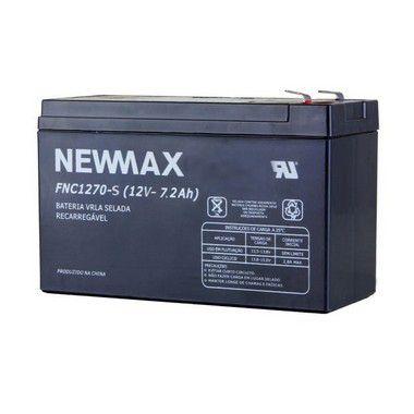 Bateria Selada VRLA 12V 7.2AH NEWMAX