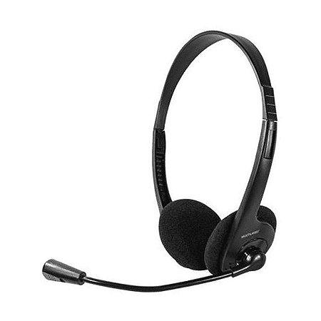 Headset Multimídia P2 Preto PH002 Multilaser