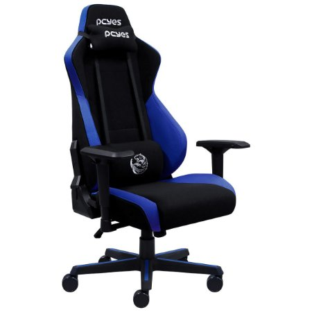 Cadeira Gamer Mad Racer Turbo V8 Azul PCYes V8T8MADAZ