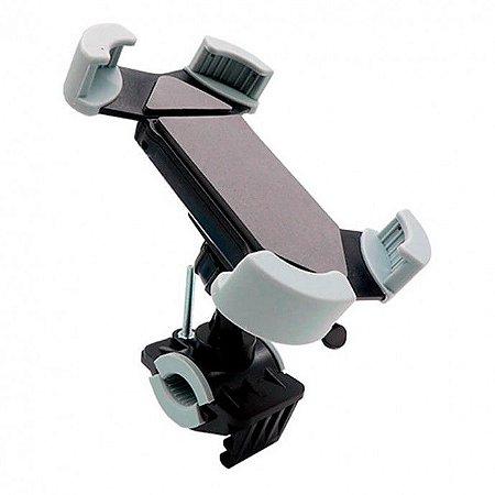 """Suporte para Moto e Bicicleta Até 6.7"""" Celular/GPS 360° SP-C86 Exbom"""