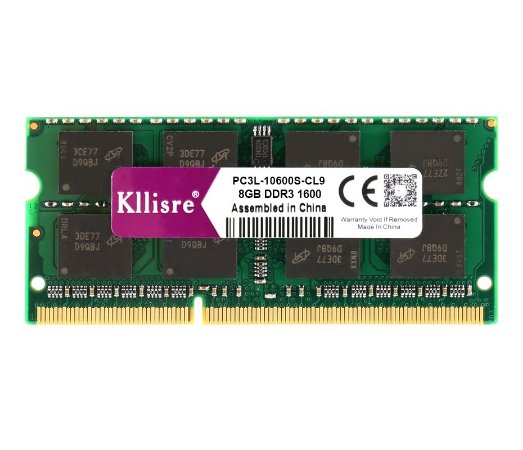 Memoria Notebook DDR3L 8GB 1333MHz Kllisre