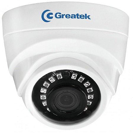 Câmera Dome iNFRAVERMELHO IR 20M 2.8MM HD IP66 SEGC1026D Greatek