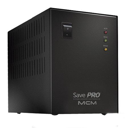 Estabilizador Microprocessado Save Pro 200VA MONO 220V EST0020 MCM