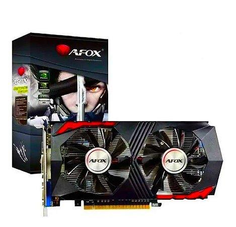 Placa de Vídeo Geforce GTX 750Ti 2GB GDDR5 HDMI VGA DVI AF750TO AFOX