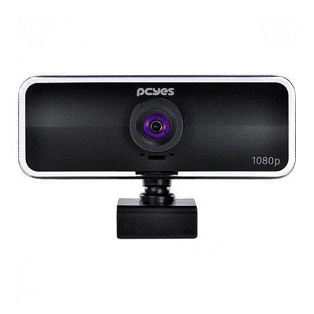 Webcam Raza 1080P 30Fps USB Preto FHD-01 PCYes