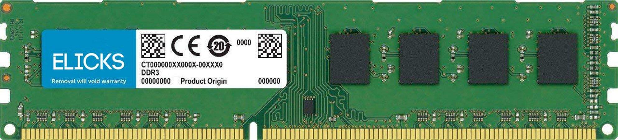 Memoria DDR3 2GB 1333MHz Elicks