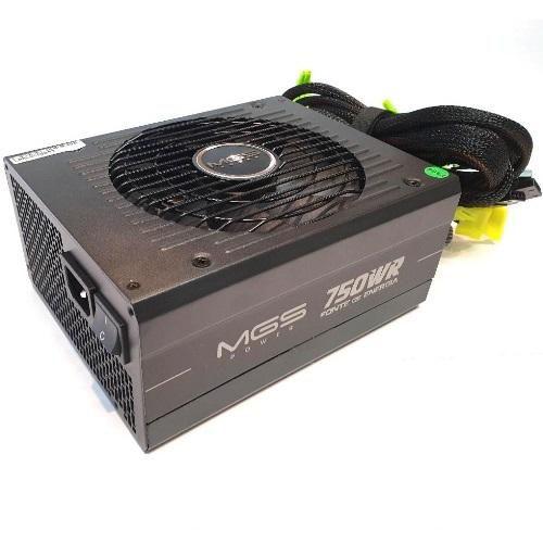 Fonte ATX 750W Full Range PFC 80 Plus Bronze MGSPower