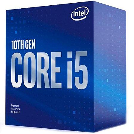 Processador Intel Core I5 10400F Hexa Core Cache 12MB 2.9GHz LGA 1200 BX8070110400F