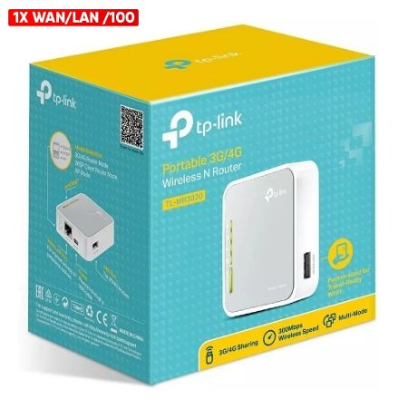 Roteador Wireless 2.4GHz 300Mbps TL-WR802N TP-Link