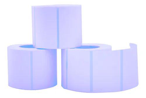 Bobina Térmica Etiqueta 80x60mm 800 Etiquetas Branca