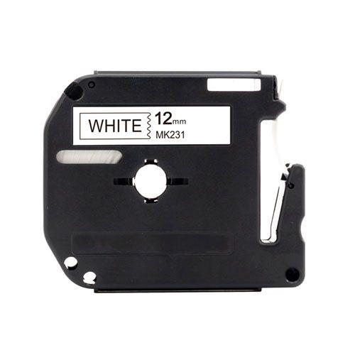 Fita Rotuladora Compatível Brother 12mm x 8m M-K231