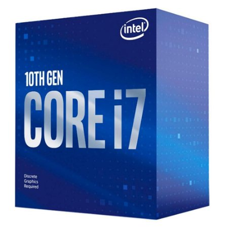 Processador Intel Core i7-10700F Cache 16MB 2.9GHz LGA 1200 S/VIDEO BX8070110700F