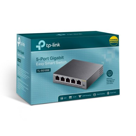 Switch 5 Portas 10/100/1000Mbps TL-SF1008D TP-Link