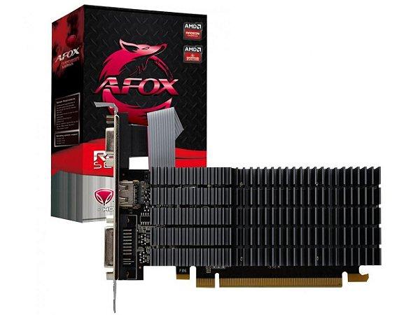 Placa de Vídeo Radeon R5 220 2GB DDR3 64BITS LOW PROFILE DVI HDMI VGA AFOX