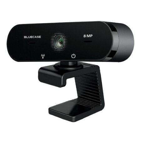 Webcam 4K 8MP c/Microfone BWEBUHD Bluecase