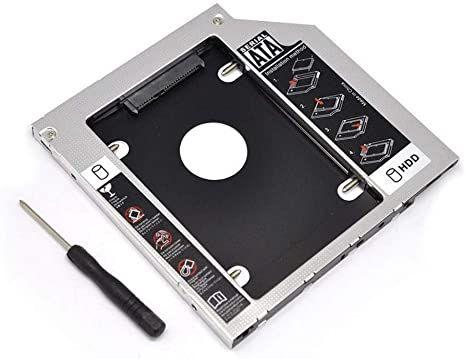 Adaptador Caddy HD SATA 2.5 9,5mm KP-HD010 Knup