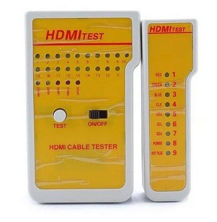 Testador de Cabo HDMI LAN Profissional RJ45 RJ11 TCL11