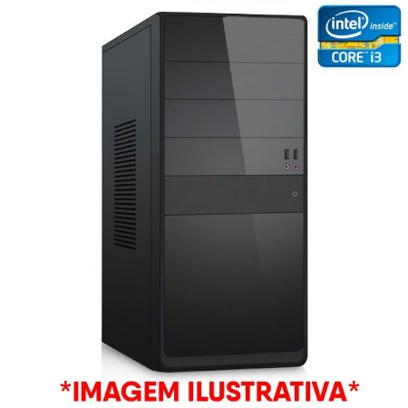 COMPUTADOR CIA CORPORATE XV, INTEL CORE I3 4160, PLACA MÃE H81, MEMORIA 8GB, SSD SATA 240GB