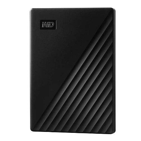 HD Externo Western Digital 1TB Portátil USB 3.0 My Passport WDBYVG0010BBK
