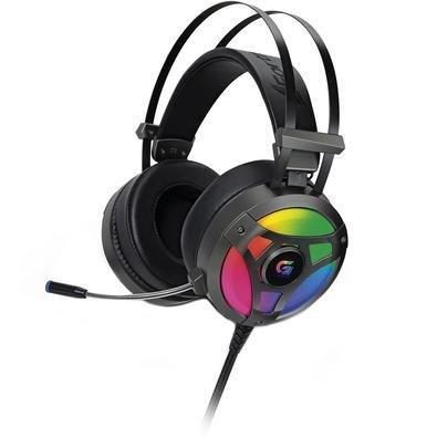 Headset Gamer USB RGB H1+ Plus 7.1 Virtual Fortrek