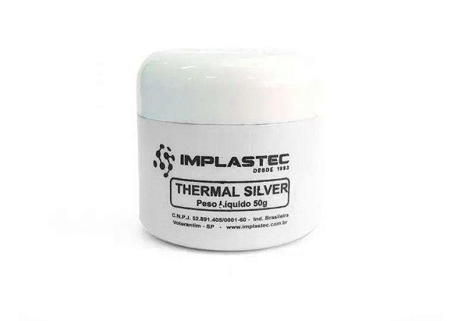 Pasta Térmica Silver 50g 66225 Implastec
