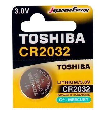 Bateria Placa Mãe CR2032 3V Toshiba