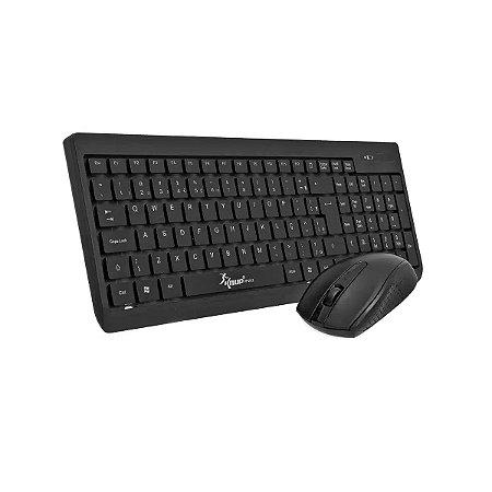 KIT Teclado + Mouse Sem Fio USB KP-2012 Knup
