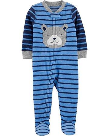 Macacão fleece (quentinho) para brincar ou dormir - pijama Carter´s