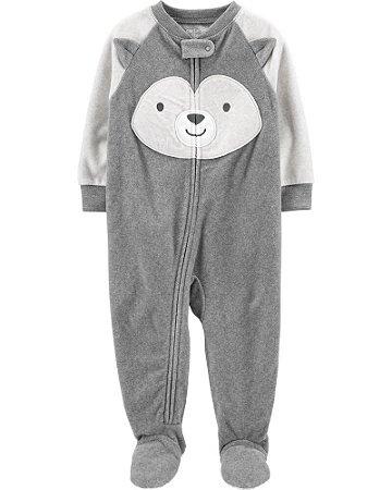 Macacão fleece (quentinho) pijama - Carter´s (desse modelo disponível somente 4 anos)