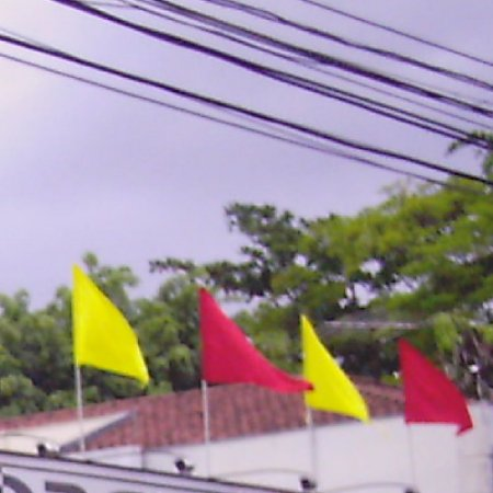 Bandeiras Triangulo Tamanho 0.75 X 0.50 cm S/ Mastro