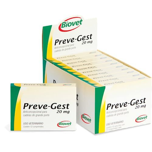 PREVE-GEST 20MG 12CP 20010217