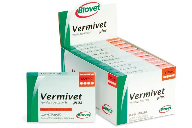 VERMIVET IVER 660MG 4CP 20010297