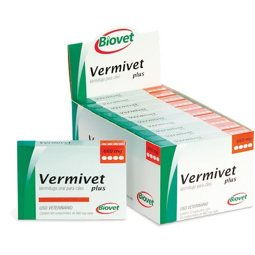 VERMIVET PLUS 660MG 4CP 20010222