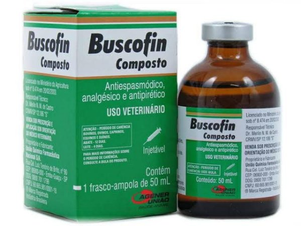 BUSCOFIN INJ 50ML 1000425