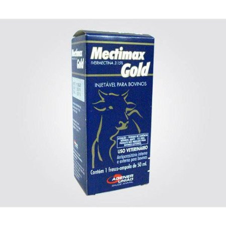 MECTIMAX 3.15% GOLD INJ 500ML